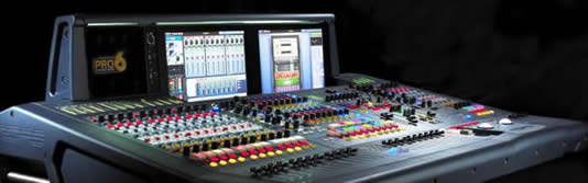 Midas Pro6 digital audio mixing console